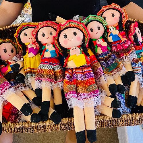Peruvian Fabric Doll (Made in Peru)