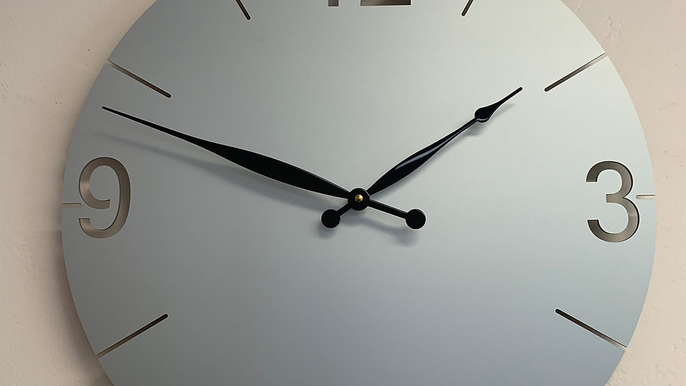 """ICD Custom Clock 18"""" (Your Initials or Logo at the 12-O'Clock position)"""