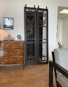 Powder Coated Privacy Panels, Outdoor Privacy, Metal Fencing, Custom Metal Art