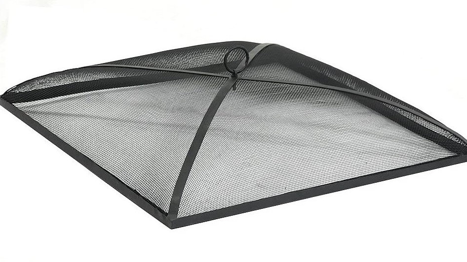 Fire Pit Spark Screen Cover