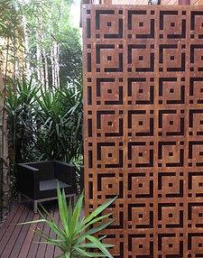 Corten Privacy Panels, Outdoor Privacy, Metal Wall Art, Custom Metal Art