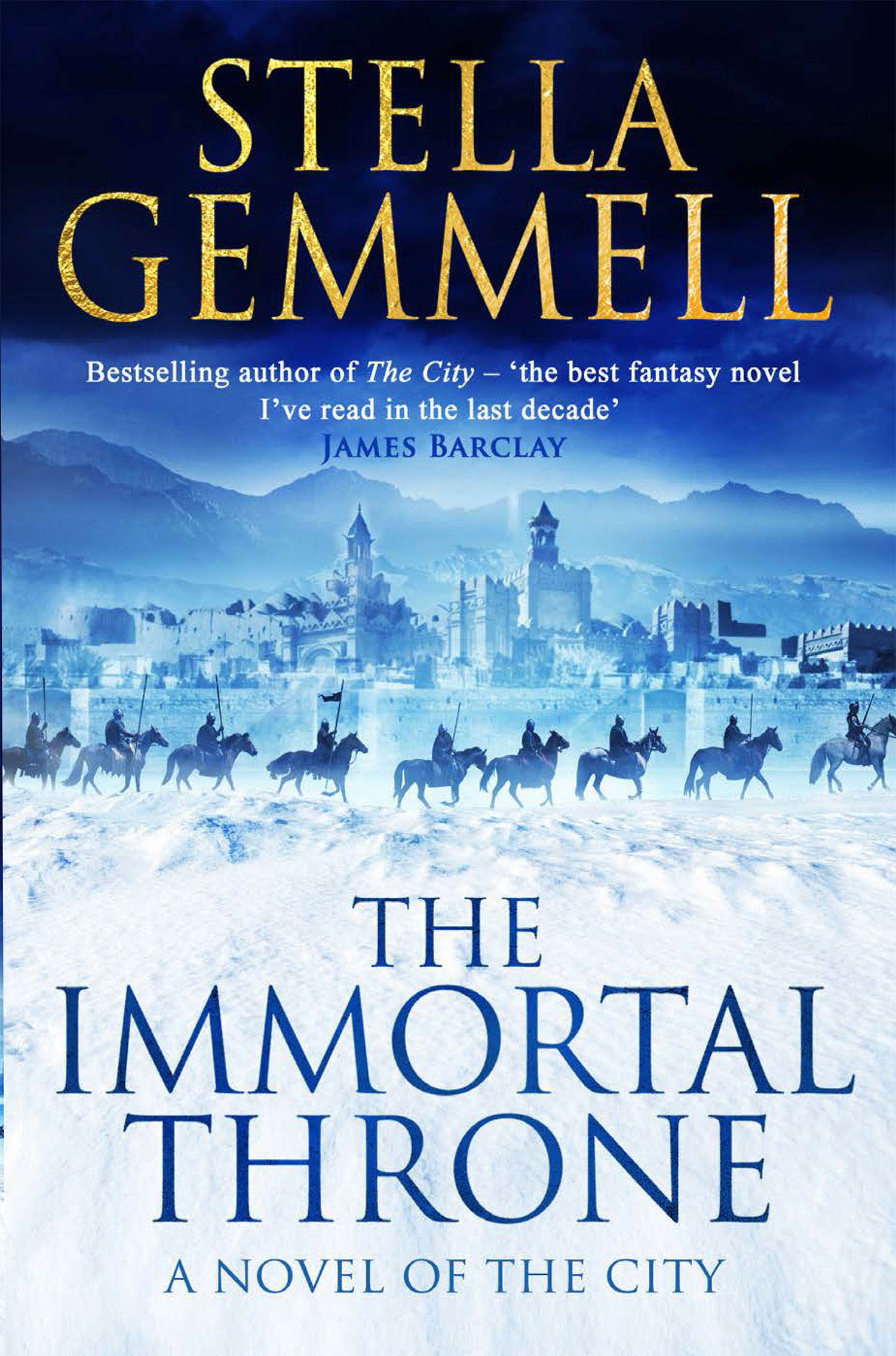 TH IMMORTAL THRONE Stella Gemmell
