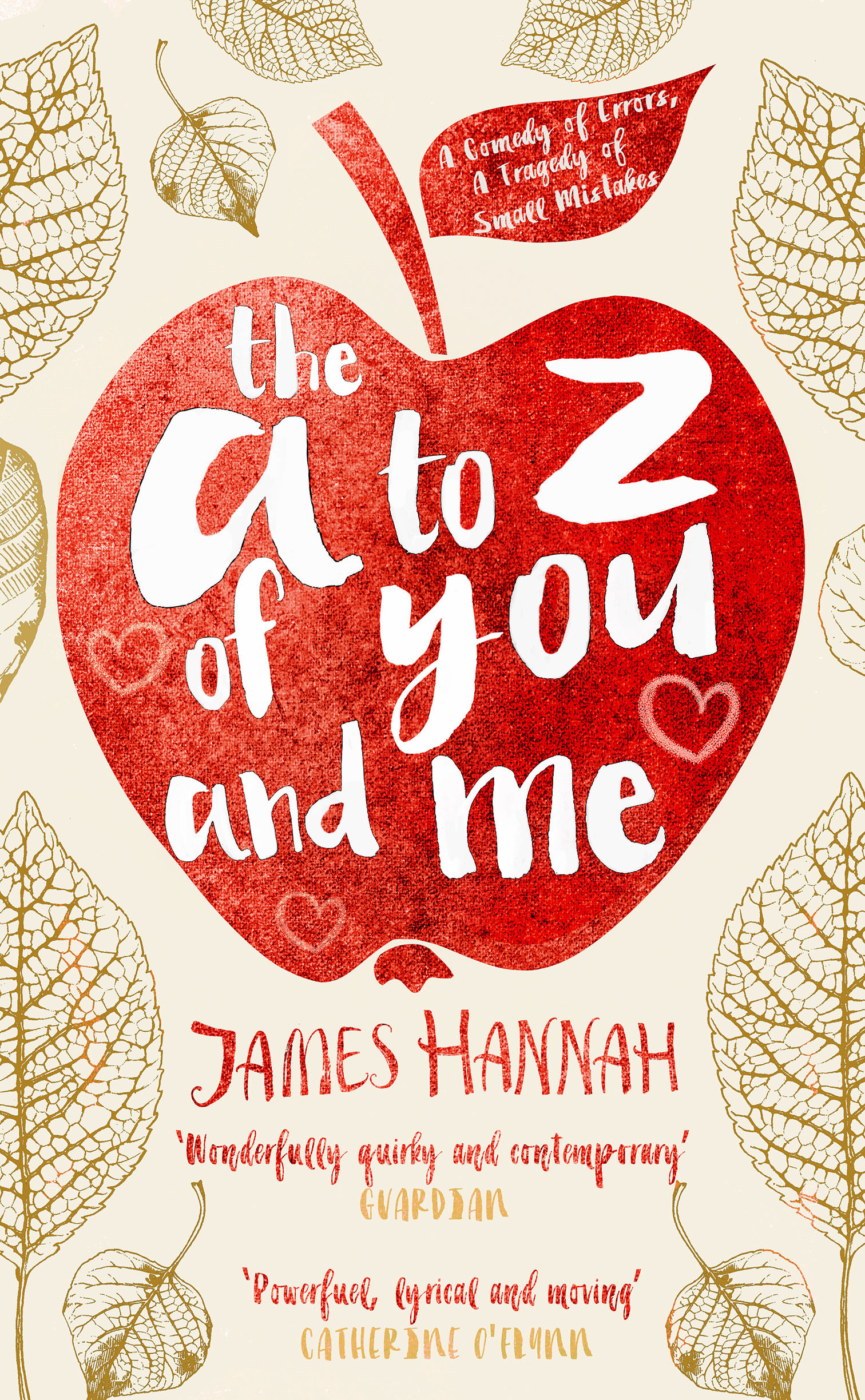 A to Z of You and Me by James Hanna