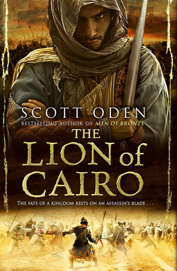 Lion of Cairo by Scott Odin