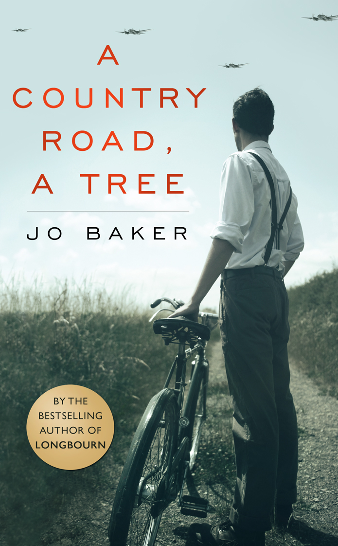 A country road a tree Jo Baker