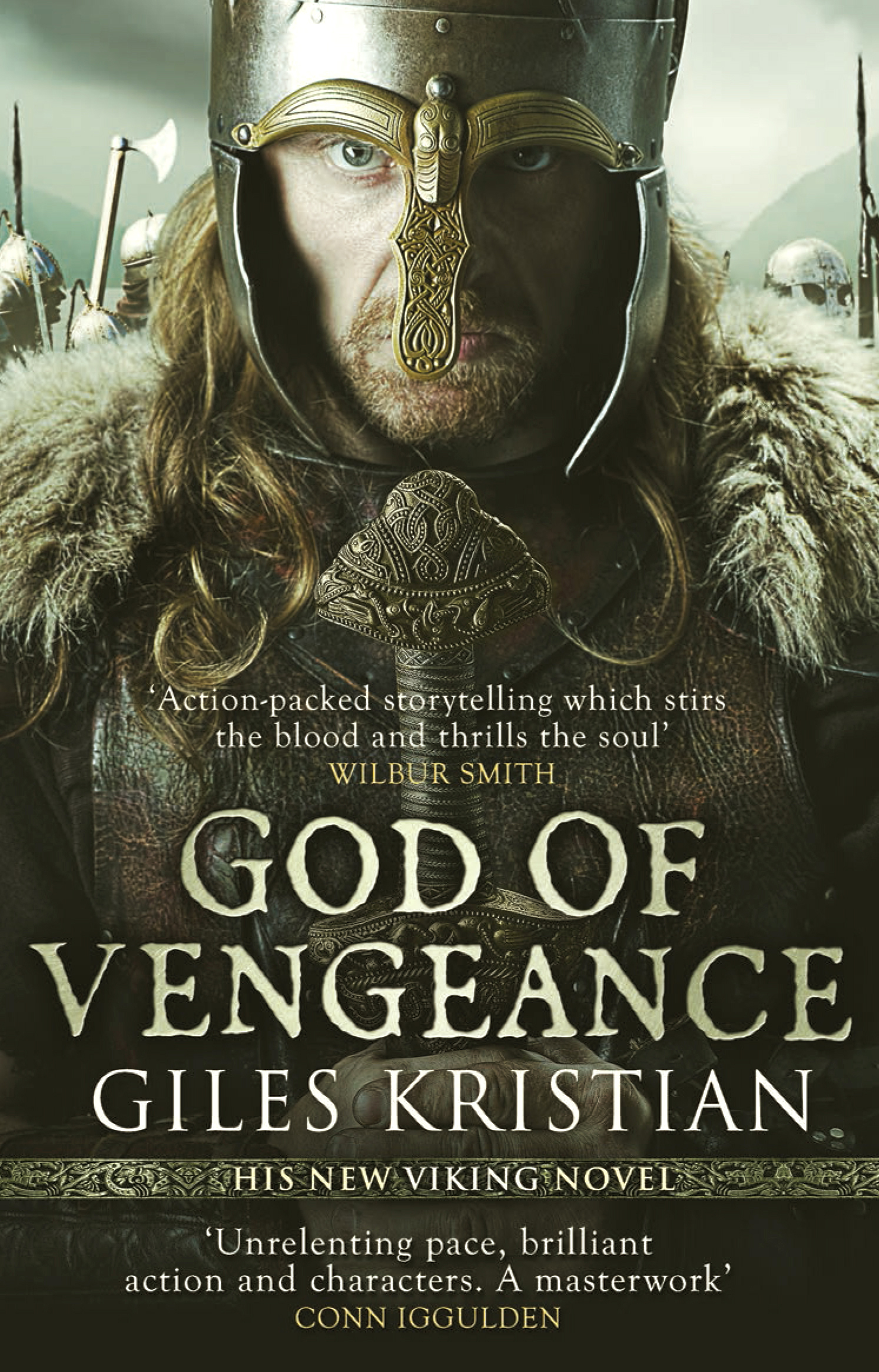 GOD OF VENGEANCE BY GILES KRISTIAN