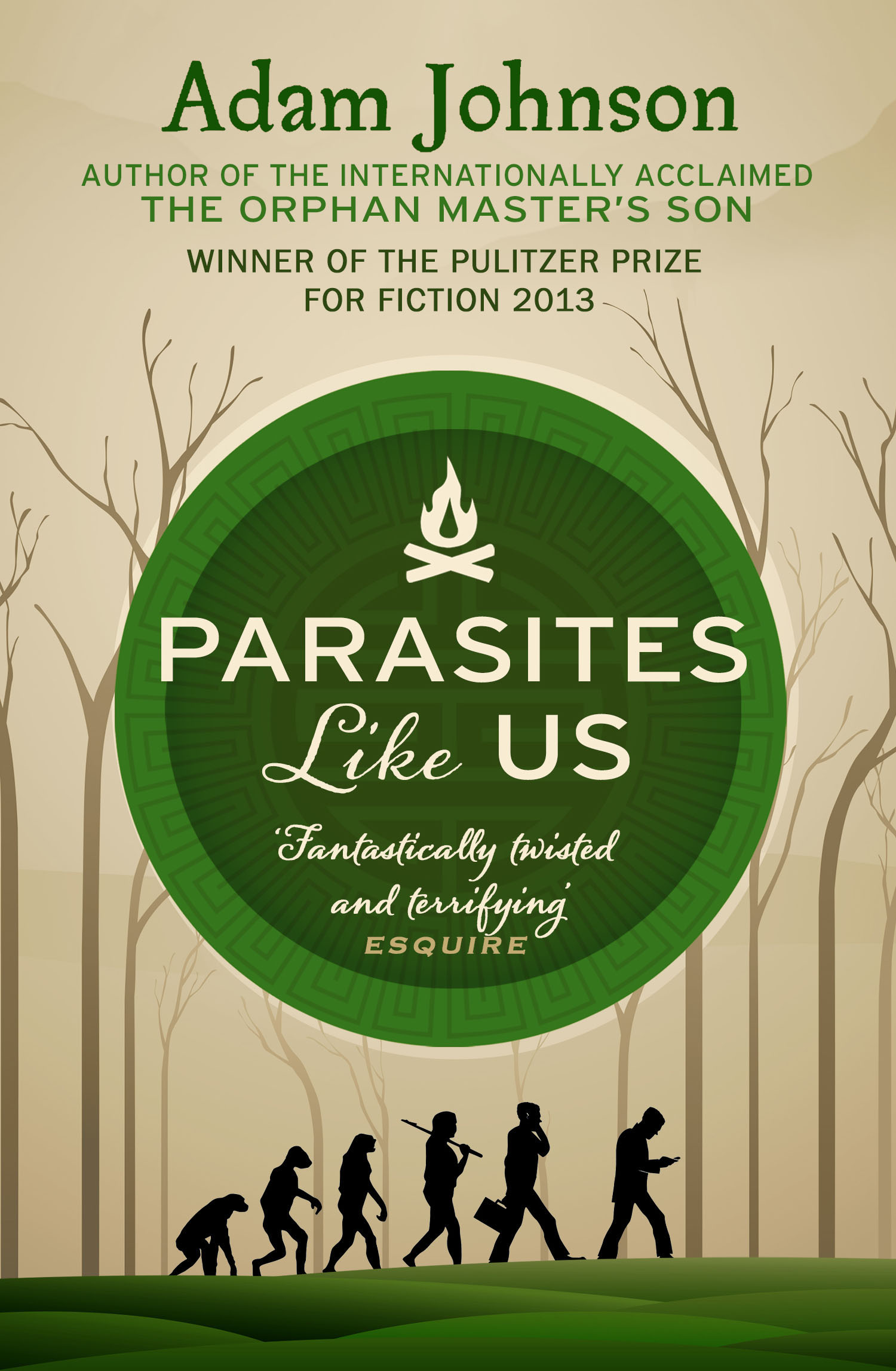 PARASITES LIKE US (PB) Adam Johnson