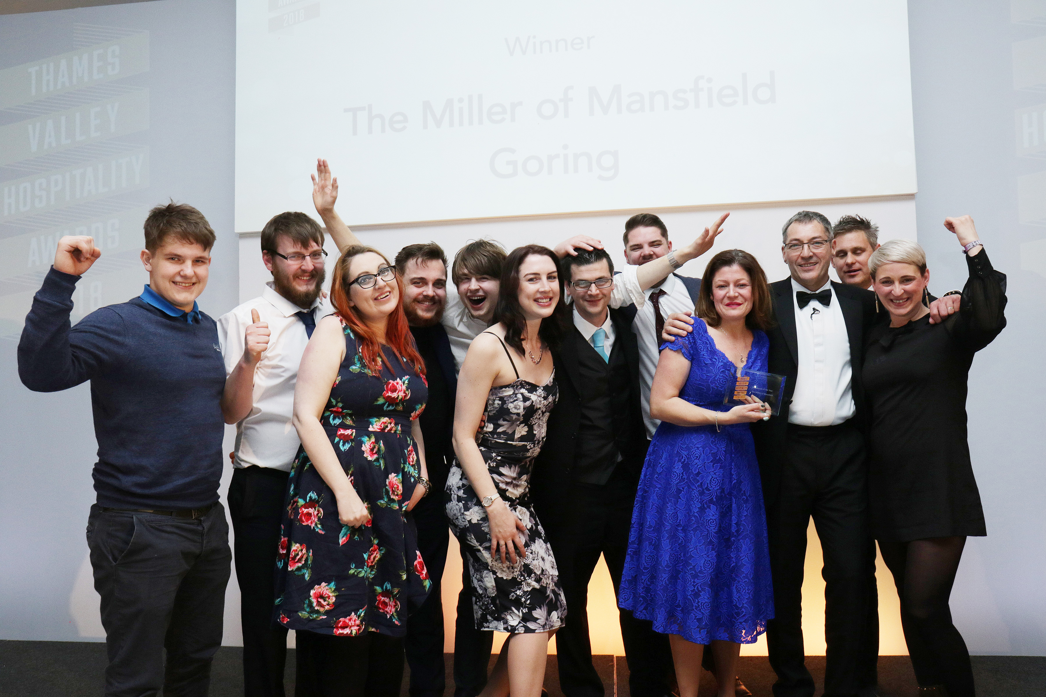 The Miller of Mansfield Goring wins Restaurant of the Year