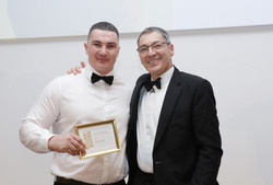 Robin Campbell of Bel & The Dragon wins bronze in Apprentice of Year