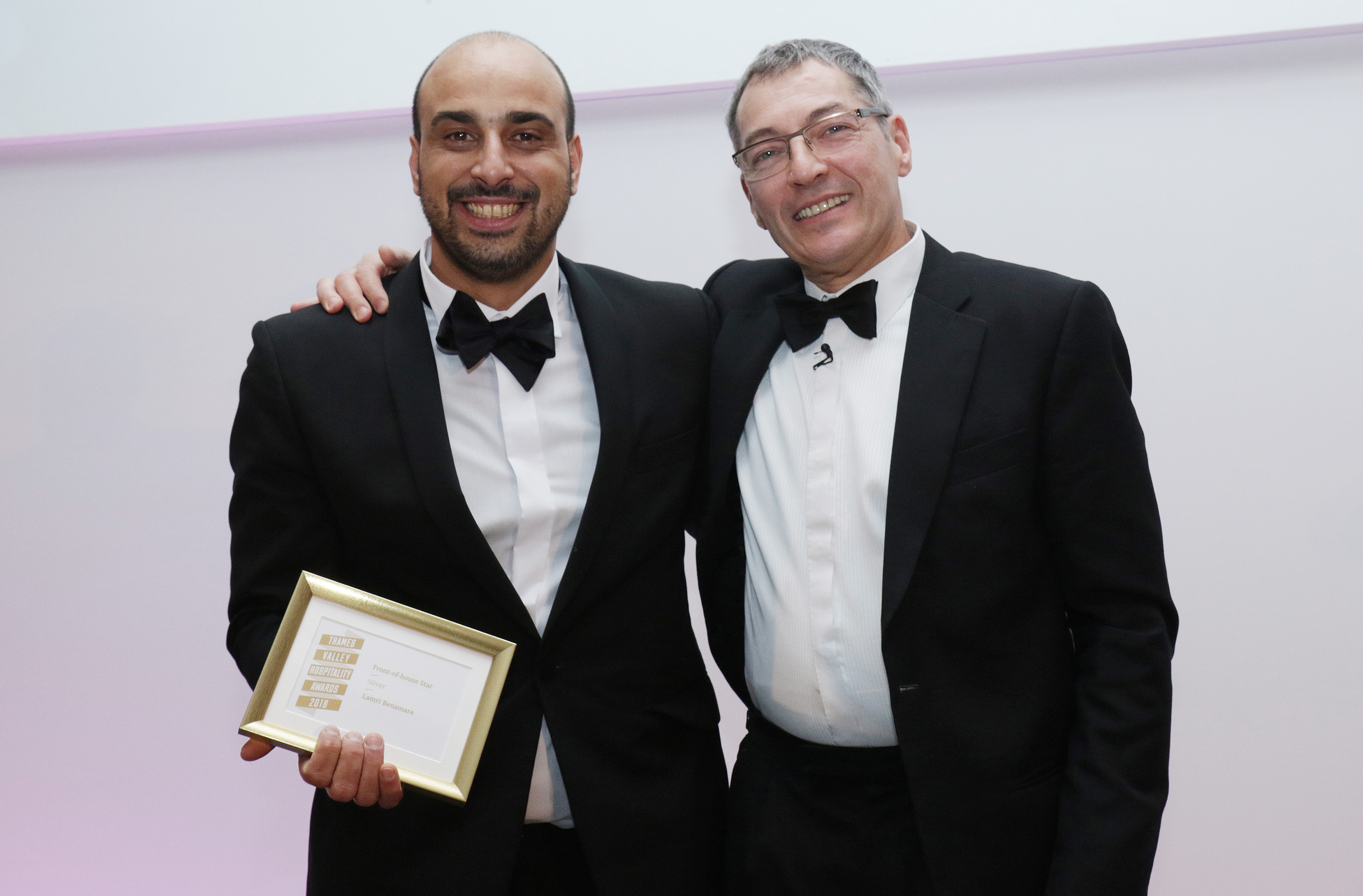 Lamri Benamara of Sanpa in wokingham picks up silver for Front-of-House star