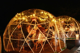 Baby it's cold outside so come into the igloo!