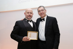 Paul Jones of Crowne Plaza Hotel wins silver in Back-of-House Star