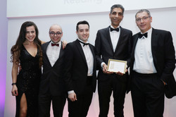 The Forbury Hotel team win silver in Hotel of the Year