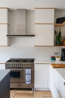 Sleek Slab Kitchen, Bristol
