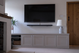 Fitted Living Room Storage in Butcombe