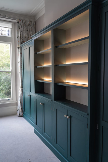 Fitted Living Room Cabinets in Clifton, Bristol