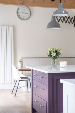 A fresh feeling kitchen with traditional elements, Butcombe