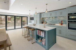 Contemporary Shaker Kitchen in West London