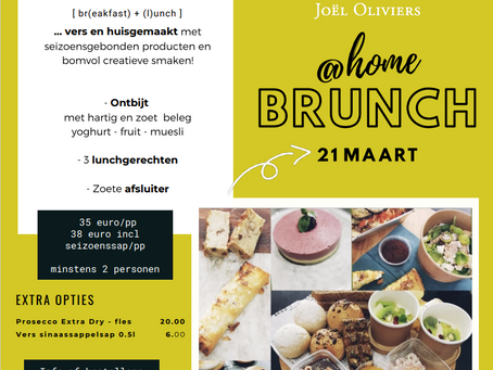 Brunch @ home 21 maart 2021