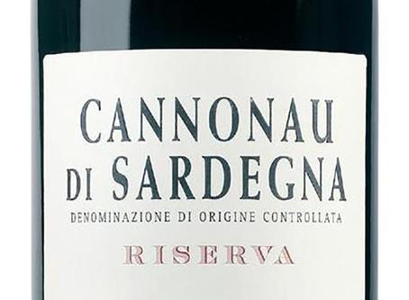 Cannonau Riserva från Sella & Mosca!