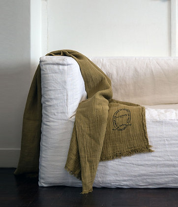 Plaid Bed Butternut