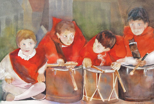 Drummer Boys of Assisi