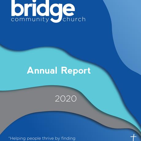 Bridge Community Church Annual Report (front)