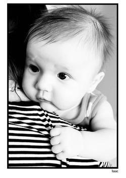 Isaac black & white