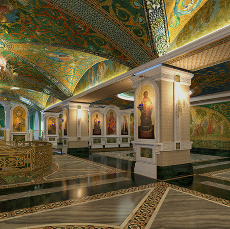 Храм Новомучеников иИсповедников Церкви Русской наЛубянке. Малый храм