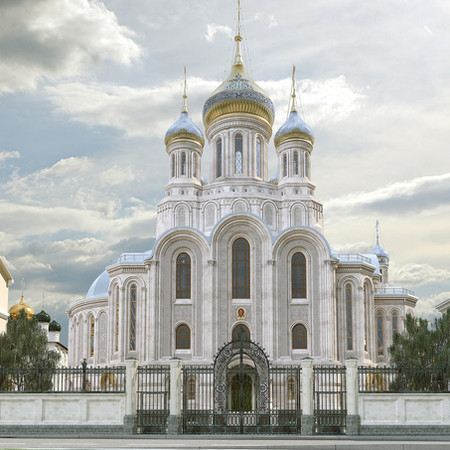 Храм Новомучеников и Исповедников Церкви Русской на крови, что на Лубянке