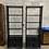 Thumbnail: Vintage Coastal Style Wicker & Faux Bamboo Display Cabinets- a Pair