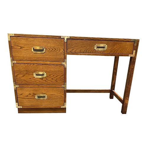 1970's Bernhardt Campaign Style Desk