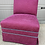Thumbnail: Early 21st Century Upholstered Pink Slipper Chair