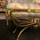 Thumbnail: Vintage Italian Brass Coffee Table