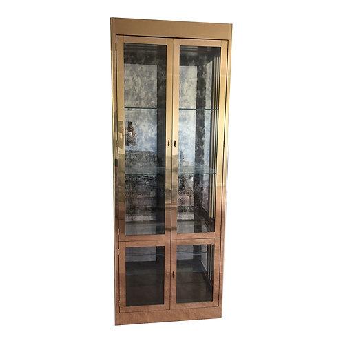 Hollywood Regency Mastercraft Display Cabinet