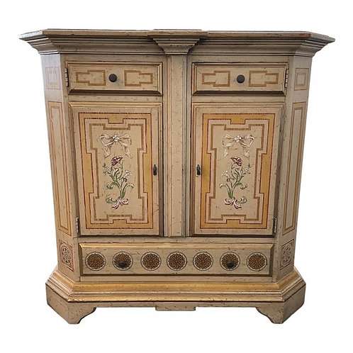 Vintage French Country Cabinet by Heritage Furniture