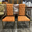 Thumbnail: The Imperial Faux Bamboo Chair Set by Mastercraft, 1970s- a Pair