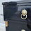 Thumbnail: Mid 20th Century Neoclassical Style Rolling Chest By Rway Furniture