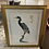 """Thumbnail: Late 20th Century Jonna White Limited Ed Chinoiserie Etching of a Heron """"Moonsto"""
