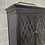 Thumbnail: Pagoda Rattan Faux Bamboo Chippendale Style Fretwork Armoire Tv/ Bar Cabinet