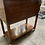 Thumbnail: Late 20th Century Hickory White Sideboard Server Cart