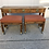 Thumbnail: Hekman Chinoiserie Style Console Table & Benches- Set of 3
