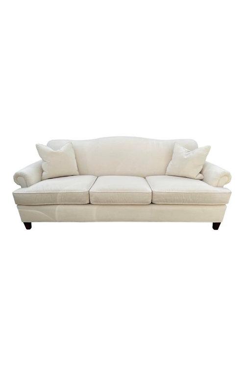 Stickley Furniture Off-White Modern Upholstered Sofa
