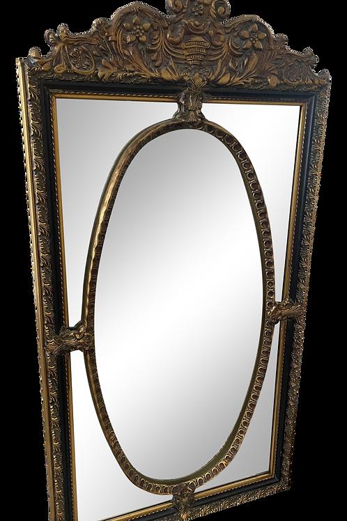 Vintage Hollywood Regency Beveled Mirror