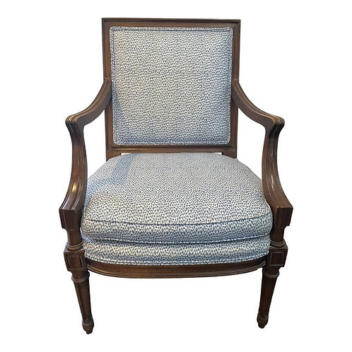 Late 20th Century Upholstered Accent Chair