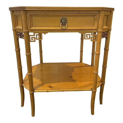 Chinoiserie Fretwork Accent Table by Baker Furniture