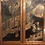 Thumbnail: Antique Chinoiserie Two-Piece Burl Wood China Cabinet
