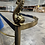 Thumbnail: Late 20th Century Labarge *Rare Koi Brass Console Table