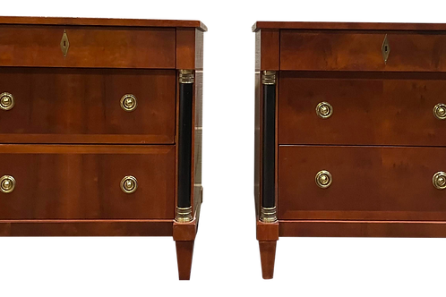 Late 20th Century Neoclassical Style Nightstands by Century Furniture Nightstand