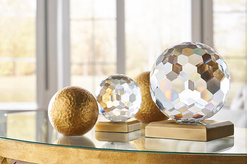 Hammered Gold Decorative Ball by Chelsea House